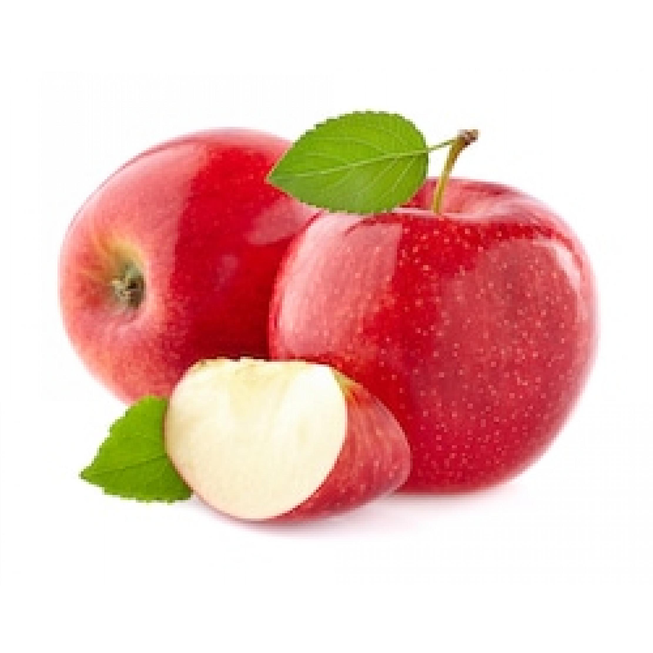 تفاح احمر